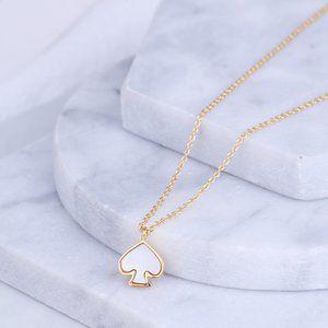 Kate Spade Logo Charm Necklace